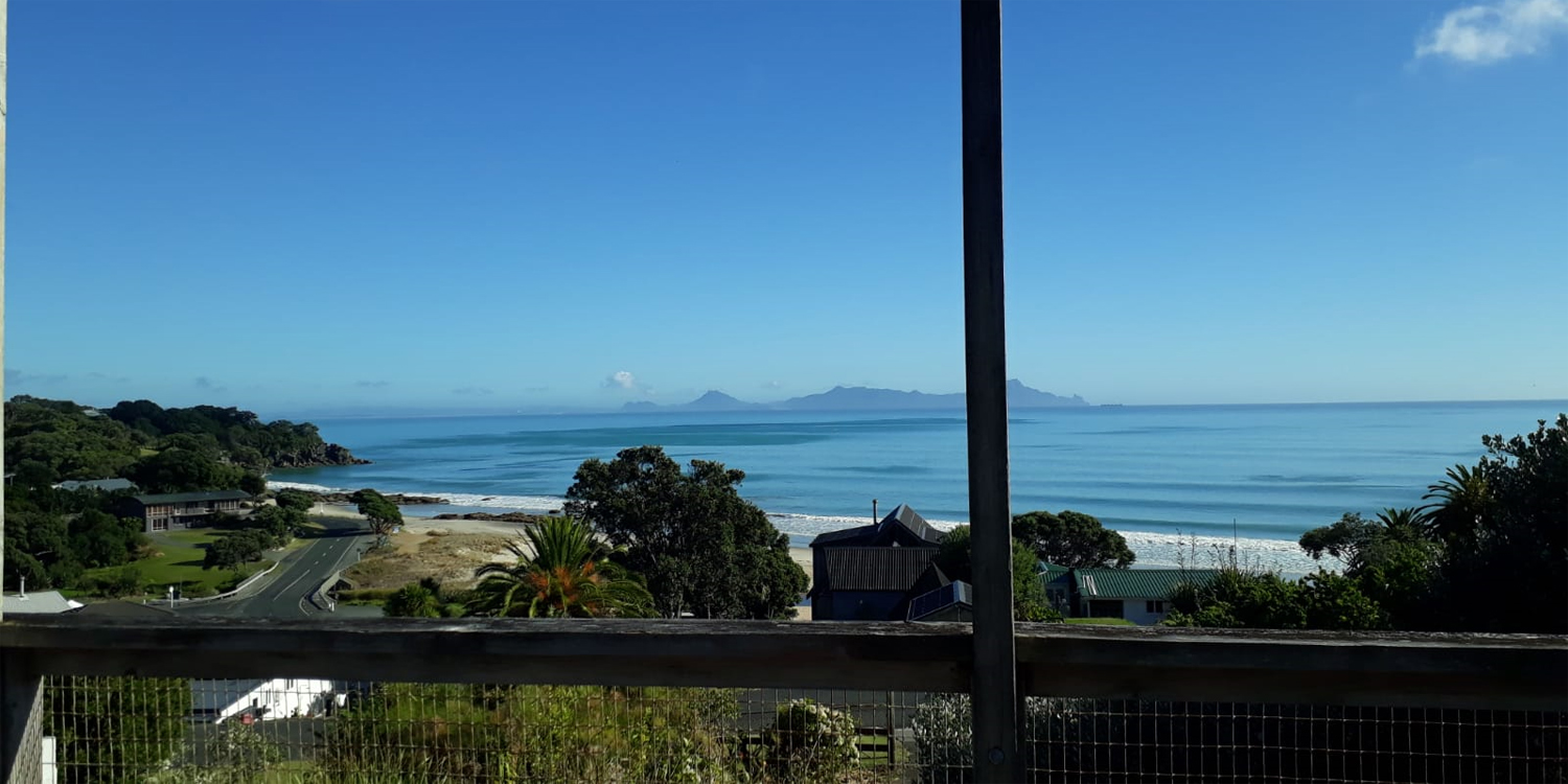 Langs beach View of Whangarei Heads